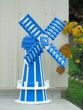 "30"" Poly Dutch Windmill (Blue with White trim)"