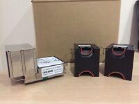 PN 00KA517 (00KC718) IBM / Lenovo Heatsink + Fans Qty 2 (FRU 00MV921 / 00YE423)