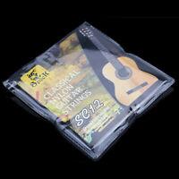 Lot de 2 paquets de 6 cordes de guitare classique en nylon guitar