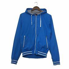 Primark Hooded Zip Jacket Size XS Mens Blue Extra Small Hoodie Windbreaker Coat