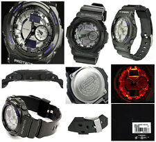 Casio G-Shock GA150MF-8A Black Half-Gloss Finish 3D Design Streetwise Look Watch