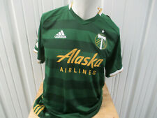 ADIDAS MLS AUTHENTIC PORTLAND TIMBERS LARGE JERSEY 2019/21 KIT NEW W/ TAGS CLIMA