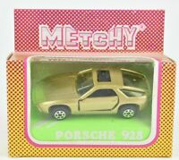 Matchbox Metchy Porsche 928 Gold with Sunroof Hungary RARE 1:64 MIB