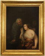 Sacrifice of Iphigenia Ottmar Elliger Younger, German Follower 17c. Oil / Canvas