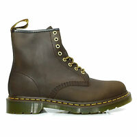 Dr. Martens Men's Premium Waterproof Leather Casual Lace Up Ankle Boots Brown