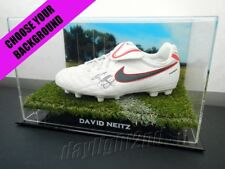 ✺Signed✺ DAVID NEITZ Football Boot PROOF COA Melbourne Demons 2018 Guernsey
