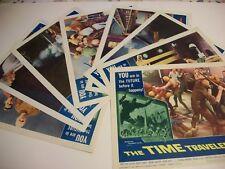 The Time Travelers   original lobby card set  1964