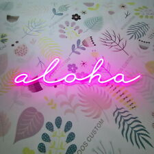 AOOS CUSTOM Hawaii Aloha Dimmable LED Neon Light Signs For Wall Decor