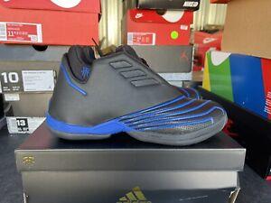 Adidas T-Mac 2 Restomod Black Blue 2021 Size 8 100% Authentic