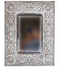 Metal Wall Hanging Mirror Artwork Stylish Modern Ornament Home Décor *52 cm*
