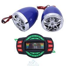 Motorrad Stereo Lautsprecher Bluetooth Audio Soundsystem Radio FM USB MP3 SD TF