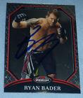 Ryan Bader Signed UFC 2011 Topps Finest Card #68 PSA/DNA COA Autograph 174 144