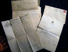 1913 - 1914 FOUNDING DOCUMENTS FARMINGDALE COLLEGE GOVERNOR SULZER SIGNED + MORE