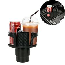 Dual Hole Car Seat Cup Holder Drink Bottle Rack Water Beverage Stand For Tidying