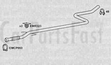 Exhaust Middle Pipe Peugeot 1007 1.4 Diesel MPV 07/2005 to 10/2005
