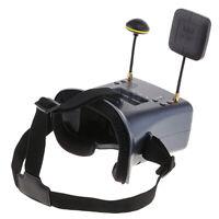 MagiDeal 5.8G 40CH FPV VR Goggles DVR Receiver for Radio Control Model Drone