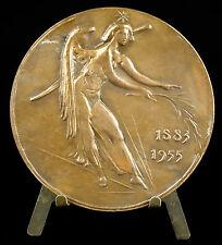 """Médaille au peintre Maurice Utrillo Valadon sc Corbin """" Les dons du ciel """"medal"""