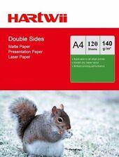 A4 140Gsm Matt Matte Double Side Photo Paper For Laser Inkjet Both - 120 Sheets