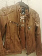 veste cuir Perfecto Redskins leather marron brown Femme Taille / L