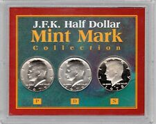 American Coin Treasures JFK 1/2 $ MINT MARK Collection COA with Display Case