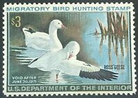 RW37 US Duck Stamp  Mint, Dist. OG, Nicely Centered!