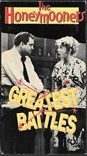 MPI Home Video The Honeymooners, Greatest Battles USED VHS 268