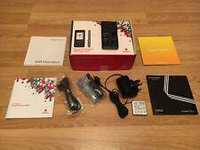 SONY ERICSSON CYBERSHOT C902 MOBILE PHONE SWIFT BLACK VODAFONE O2 UNLOCKED BOXED