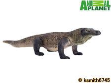 Mojo Animal Planet SPECKLED KOMODO DRAGON solid plastic toy wild zoo NEW