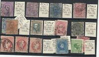 European Early Unchecked Collection Of 15 Values VFU JK1445