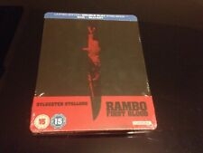 STEELBOOK BLU RAY RAMBO FIRST BLOOD // AUDIO FR // NEUF SOUS BLISTER