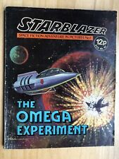 More details for starblazer sci fi comic #1 the omega experiment dc thomson 1979