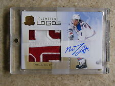 09-10 UD The Cup Limited Logos RC Rookie MICHAEL DEL ZOTTO /50