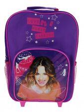 Disney Violetta Love Music Passion School Travel Trolley Roller Wheeled Bag