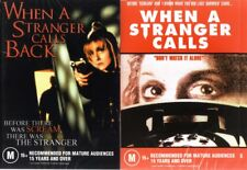 WHEN A STRANGER CALLS & CALLS BACK - 2 BRAND NEW DVD'S FREE LOCAL POST