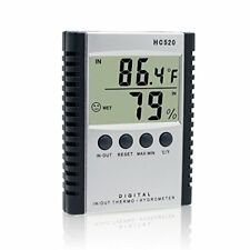 Mikiz Weather Thermometers, Digital Indoor and Outdoor Temperature Humidity ther