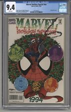 MARVEL HOLIDAY SPECIAL #NN CGC 9.4 WPGS GEORGE PEREZ COVER 1994