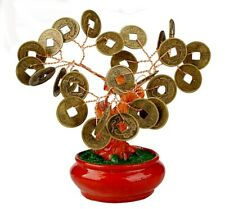 Feng Shui Coin Money Tree Bonsai Lucky Wealth Fortune Table Decoration