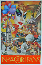 Larry Harris Join the Party Mardi Gras New Orleans ART {NEW}