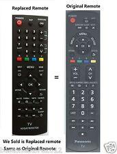 PANASONIC N2QAYB000706 N2QAYB000485 Replace Remote for TCP50X5B TCP50XD TCP60U50
