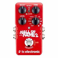 TC Electronic Hall of Fame 2 Reverb Guitar Pedal HOF - AUTHORIZED DEALER