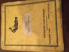 MASTER PETTIBONE 30 25 MODEL MULTIKRANE SKIDDER PARTS MANUAL ORIGINAL ANTIQUE