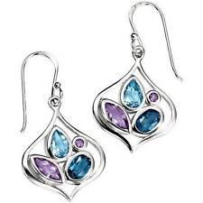 Topaz Drop/Dangle Beauty Fine Earrings