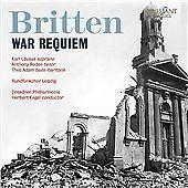 Britten: War Requiem, Rundfunk-Sinfonie-Orchester Leip, Audio CD, New, FREE & FA