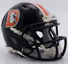 DENVER BRONCOS NFL Mini Football Helmet BIRTHDAY WEDDING CAKE TOPPER DECORATION
