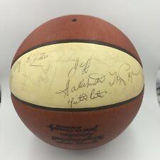 Pete Maravich Rookie 1971-72 Atlanta Hawks Team Signed NBA Basketball JSA COA