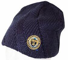 PHILADELPHIA UNION MLS SOCCER - DARK BLUE BEANIE CAP ONE SIZE NO CUFF NEW 2012