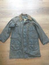 New listing Vtg Barbour wax Solway zipper 1 crest jacket gold label newey Aero zip SAS 1970s