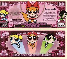 The Powerpuff Girls - Cartoon Network Character Million Dollar Novelty Money