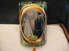 "Lord Of The Rings Fellowship SARUMAN 6"" Action Figure NEW 2001 ToyBiz 81023"