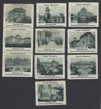 Hansa margarine poster stamps hamburg scenes (10)